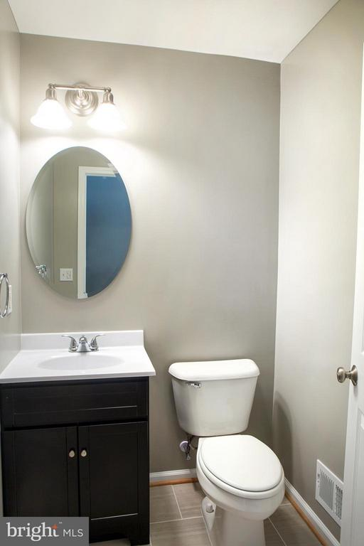New Fixtures in Powder Room - 1628 27TH ST SE, WASHINGTON