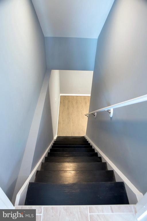 Stairs Down to LL from Kitchen - 1628 27TH ST SE, WASHINGTON
