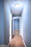 Hall to 4th Bedroom & Bath - 1628 27TH ST SE, WASHINGTON