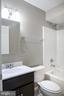 2nd Full Bath, with New Fixtures, Tiled Floors - 1628 27TH ST SE, WASHINGTON