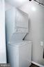 Also Stacked Washer/Dryer in Hall Closet - 1628 27TH ST SE, WASHINGTON