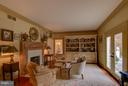 Wood Burning Fireplace - 22030 WILLISVILLE RD, UPPERVILLE