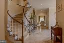 Main Foyer Entry - 22030 WILLISVILLE RD, UPPERVILLE
