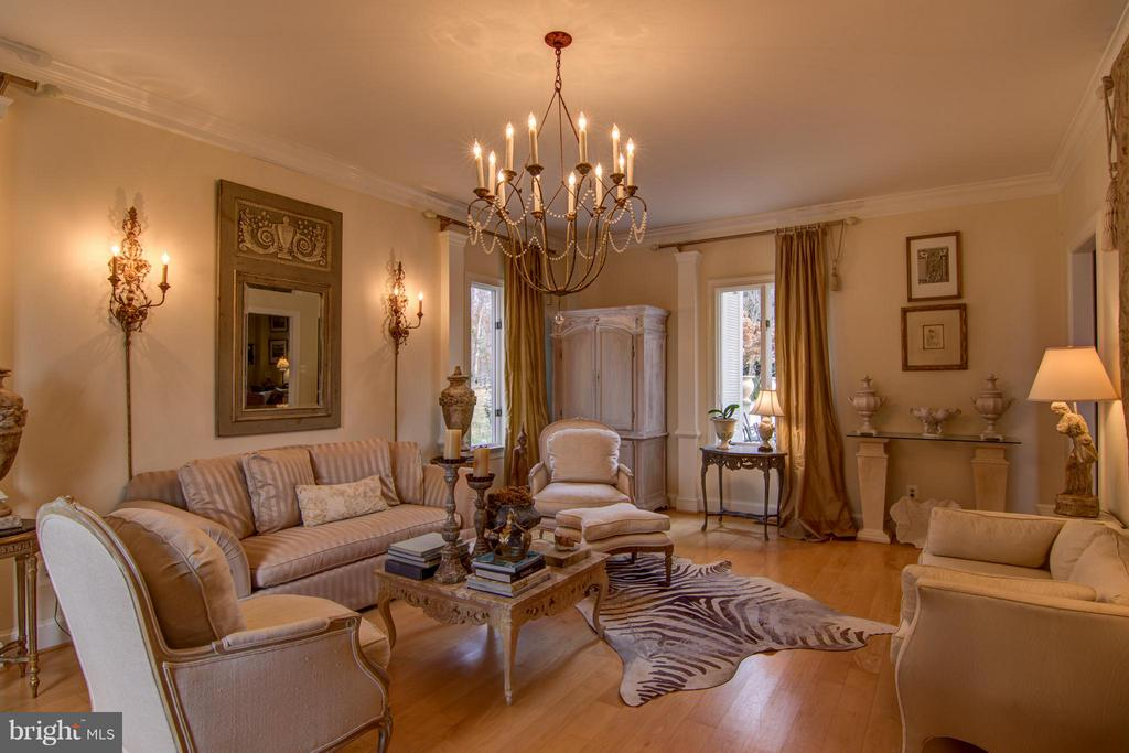Elegant Living Room - 22030 WILLISVILLE RD, UPPERVILLE