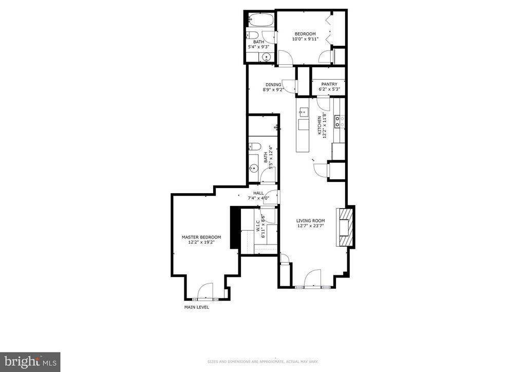 1830 Jefferson Pl NW #1 Floor Plan - 1830 JEFFERSON PL NW #1, WASHINGTON