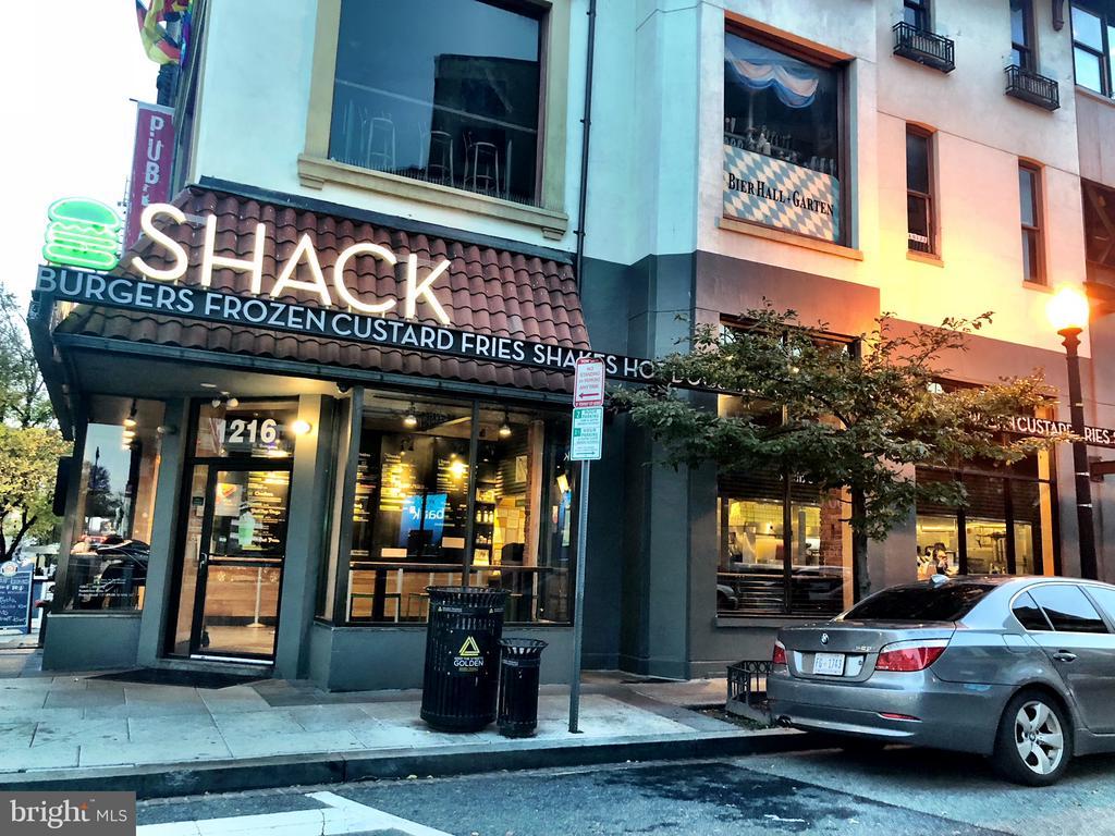 Lots of restaurants nearby like Shake Shack. - 1830 JEFFERSON PL NW #1, WASHINGTON