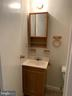 Lower Level Half Bathroom - 6152 MCLENDON CT, ALEXANDRIA