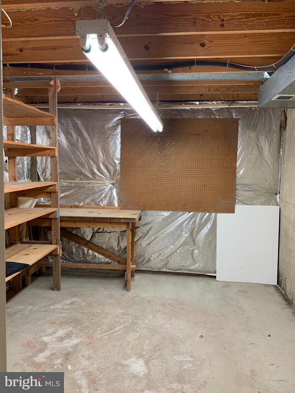 Lower Level Storage Area - 6152 MCLENDON CT, ALEXANDRIA