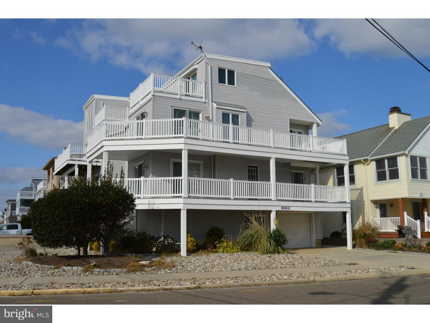 Single Family Home for Sale at 8910 PLEASURE AVE #EAST Sea Isle City, New Jersey 08243 United States