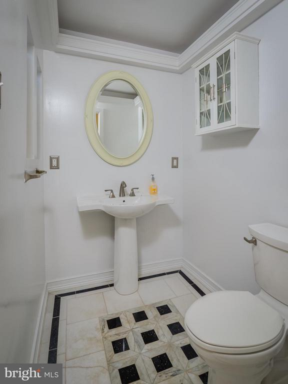 Half Bathroom - 7415 BRADLEY BLVD, BETHESDA