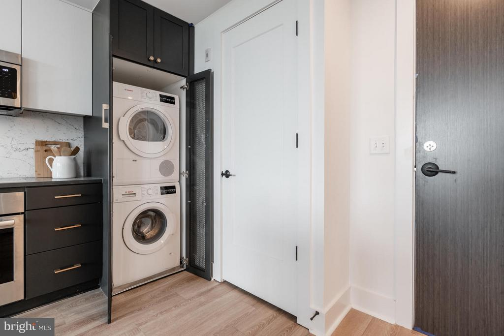 Washer/Dryer stacked and included - 801 VIRGINIA AVE SE #406, WASHINGTON