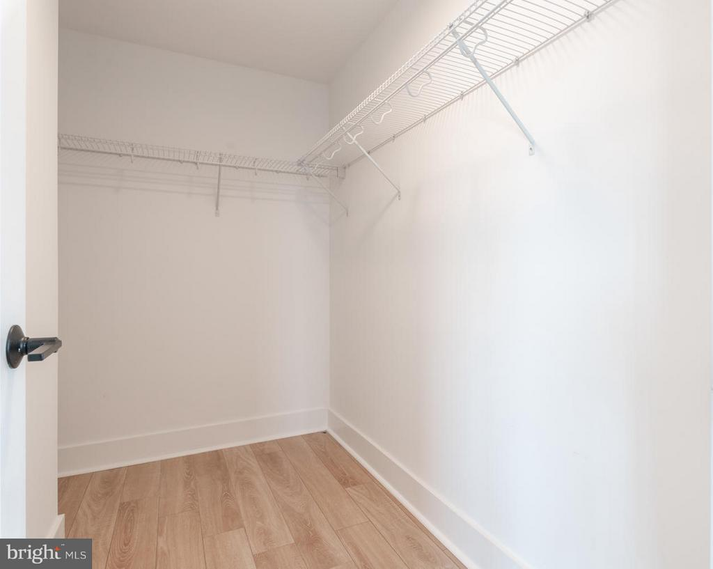 Walk-in closet for lower level bedroom - 801 VIRGINIA AVE SE #406, WASHINGTON