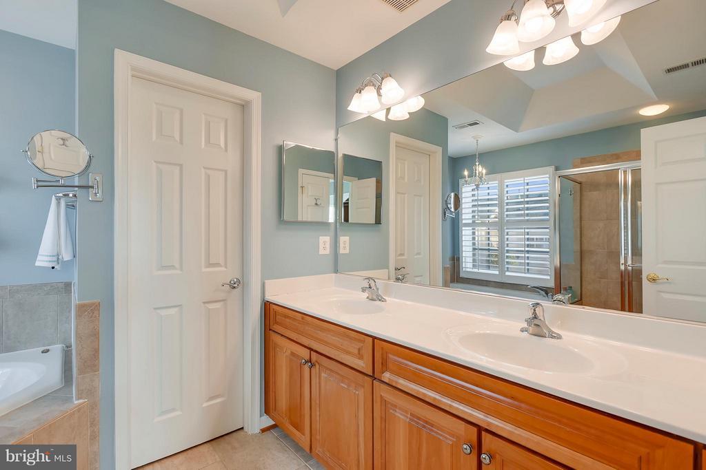 Master bathroom - 43760 SMITH FERRY SQ, LEESBURG