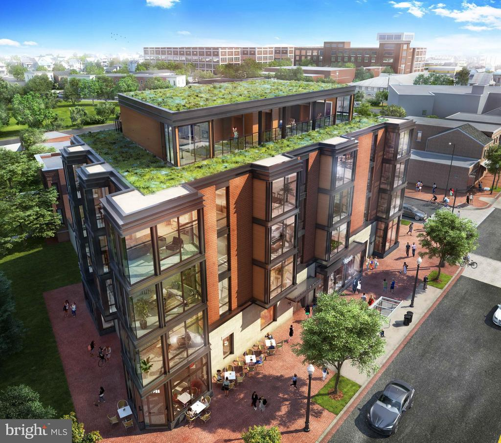 Artist rendering of exterior - 801 VIRGINIA AVE SE #406, WASHINGTON