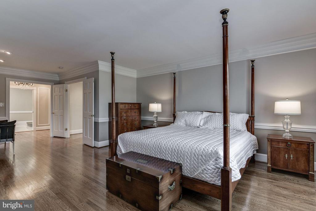 Master Bedroom Suite - 10408 BIT AND SPUR LN, POTOMAC