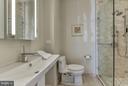 Full Informal Bathroom off Kitchen - 10408 BIT AND SPUR LN, POTOMAC