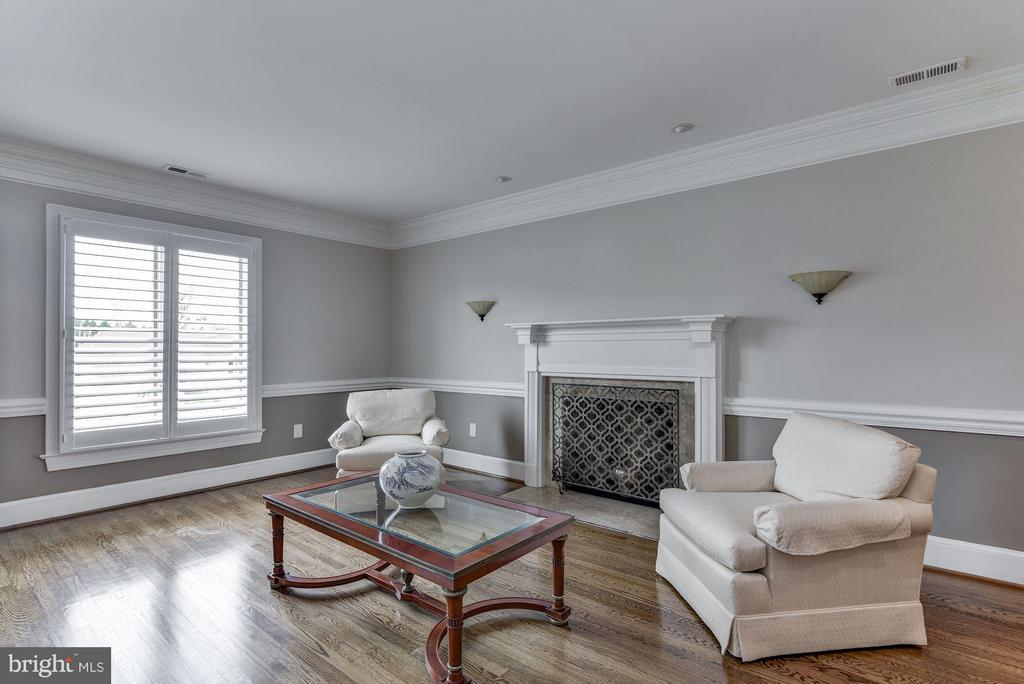 Master Suite with Wood Burning Fireplace - 10408 BIT AND SPUR LN, POTOMAC