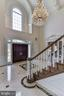 Palladian Window and Crystal Chandelier - 10408 BIT AND SPUR LN, POTOMAC