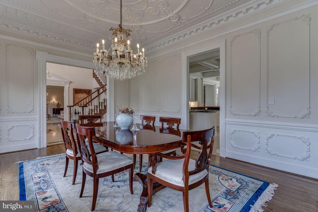 Formal Dining Room - 10408 BIT AND SPUR LN, POTOMAC