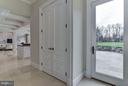 Pantry off Kitchen with exit to Patio - 10408 BIT AND SPUR LN, POTOMAC