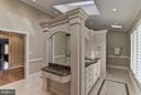 Back to Back Vanities in Master Bathroom - 10408 BIT AND SPUR LN, POTOMAC