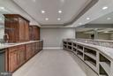 Walk Behind Kitchen & Bar Lower Level - 10408 BIT AND SPUR LN, POTOMAC