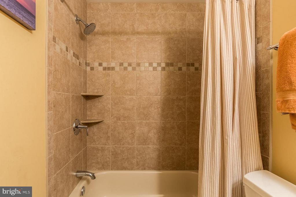 Lower Level Bathroom Upgraded Tile and Fixtures - 8709 MIDDLEFORD DR, SPRINGFIELD