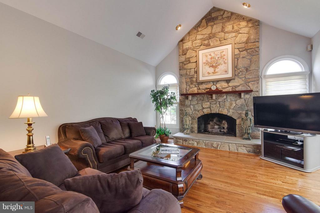 Wood burning fireplace - 43322 BUTTERFIELD CT, ASHBURN