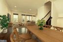 Dining Room - 23108 SULLIVANS COVE SQ, ASHBURN