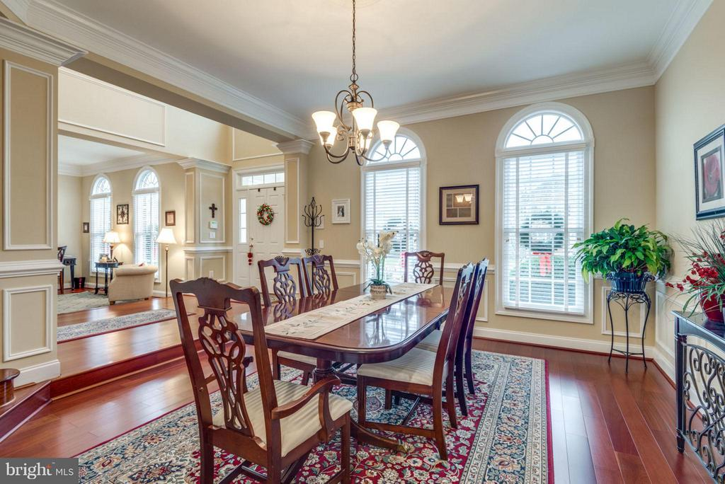 Formal Dining Room with Lots of Natural Light - 42966 CORALBELLS PL, LEESBURG
