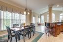 Bright Breakfast Area off Kitchen - 42966 CORALBELLS PL, LEESBURG