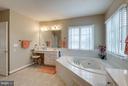 Seated Vanity in Master Bath - 42966 CORALBELLS PL, LEESBURG