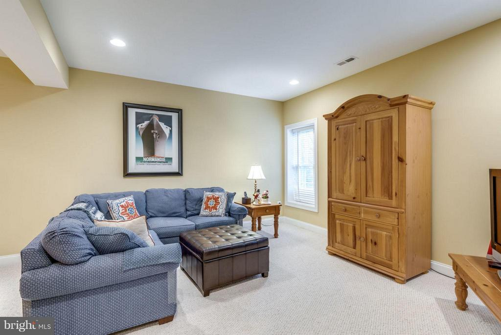 Lots of entertaining space on Lower Level - 42966 CORALBELLS PL, LEESBURG