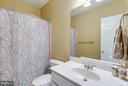 Full Bath on Lower Level - 42966 CORALBELLS PL, LEESBURG