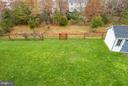 Large Fully Fenced Back Yard - 42966 CORALBELLS PL, LEESBURG
