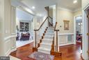 Newly replaced Hardwood Floors throughout Home - 42966 CORALBELLS PL, LEESBURG