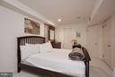 Possible fifth bedroom on lower level - 8317 TOMLINSON AVE, BETHESDA
