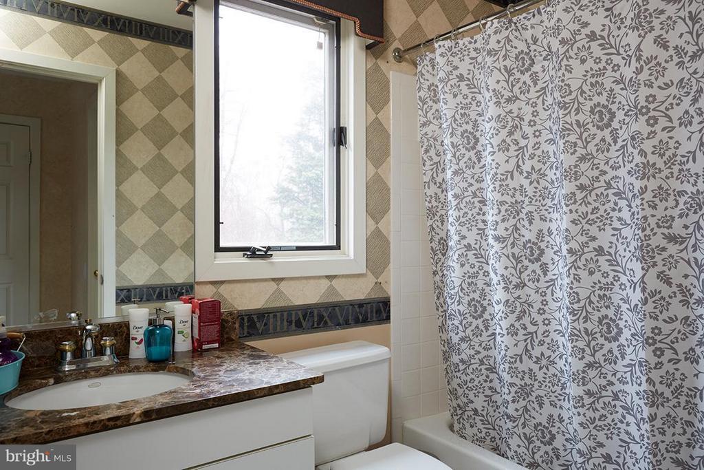 Hall bath - 8317 TOMLINSON AVE, BETHESDA