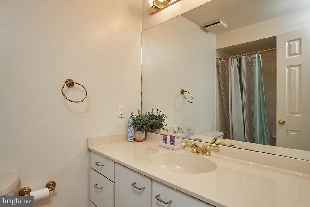 Lower bath - 8317 TOMLINSON AVE, BETHESDA