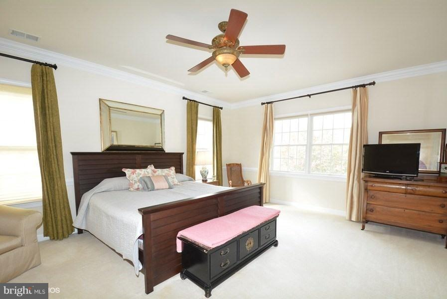 2nd Master w/ensuite Bath, 2 walk-in closets - 4200 PINERIDGE DR, ANNANDALE