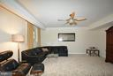4th BR/Media Rm w/cove lighting - 4200 PINERIDGE DR, ANNANDALE