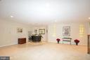 Lower Foyer w/Bar - 4200 PINERIDGE DR, ANNANDALE