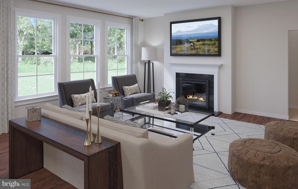 Great Room- Model Home - 21 SHERMANS RIDGE RD, STAFFORD