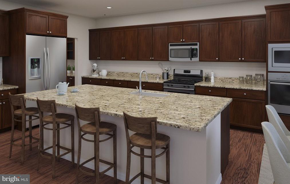 Kitchen- Model Home - 21 SHERMANS RIDGE RD, STAFFORD