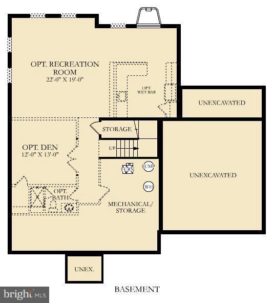 Floor Plan - 21 SHERMANS RIDGE RD, STAFFORD