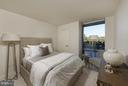 Bedroom - 2501 M ST NW #211, WASHINGTON