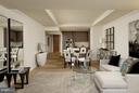 Living room - 2501 M ST NW #211, WASHINGTON