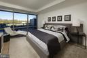 Master Bedroom - 2501 M ST NW #211, WASHINGTON