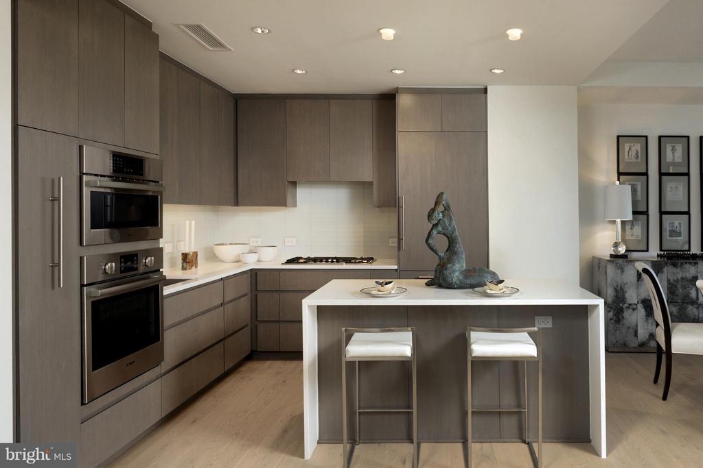 Kitchen - 2501 M ST NW #211, WASHINGTON