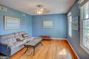 Formal living room or play room with french doors. - 35086 HARRY BYRD HWY, ROUND HILL